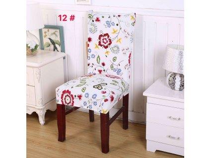 Univerzální potah na židli - Letní louka