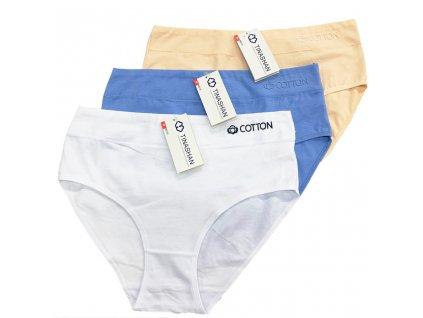 3 ks v balení dámské kalhotkyTinasan M215