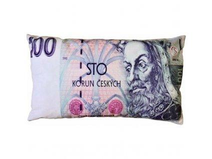 polstarek bankovka 100
