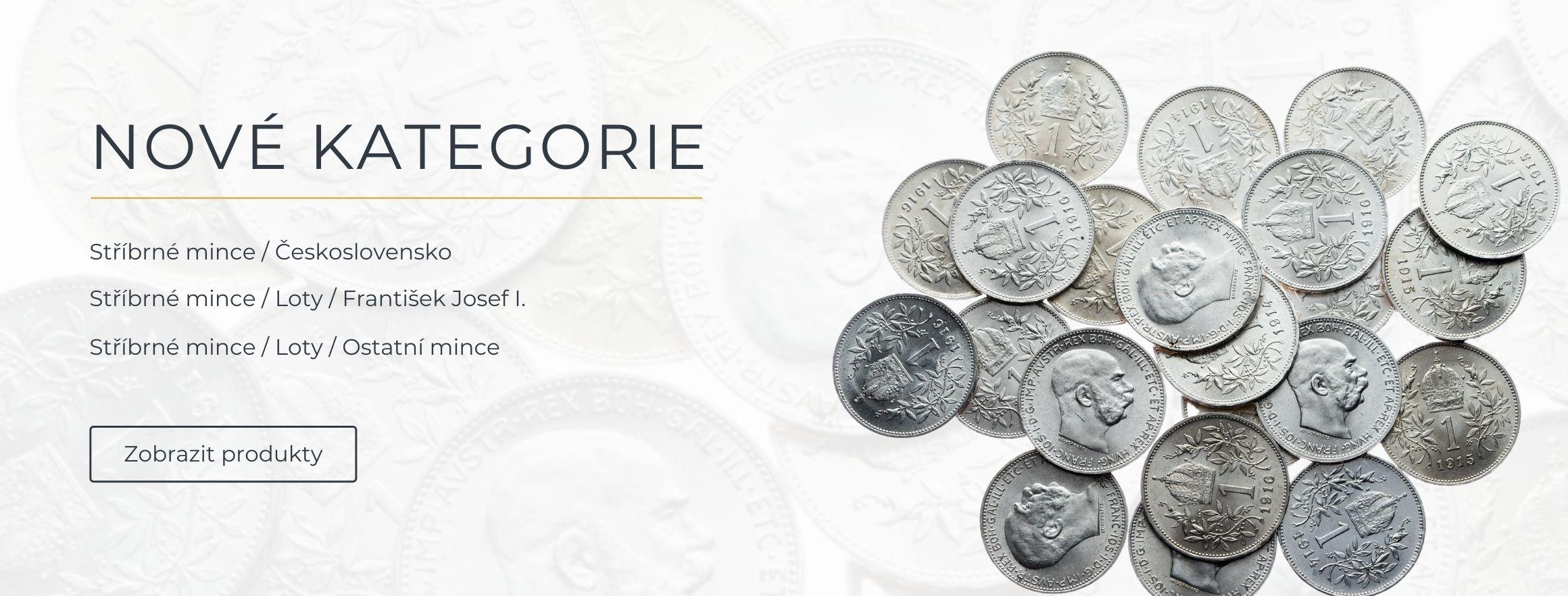 Loty - stříbrné mince