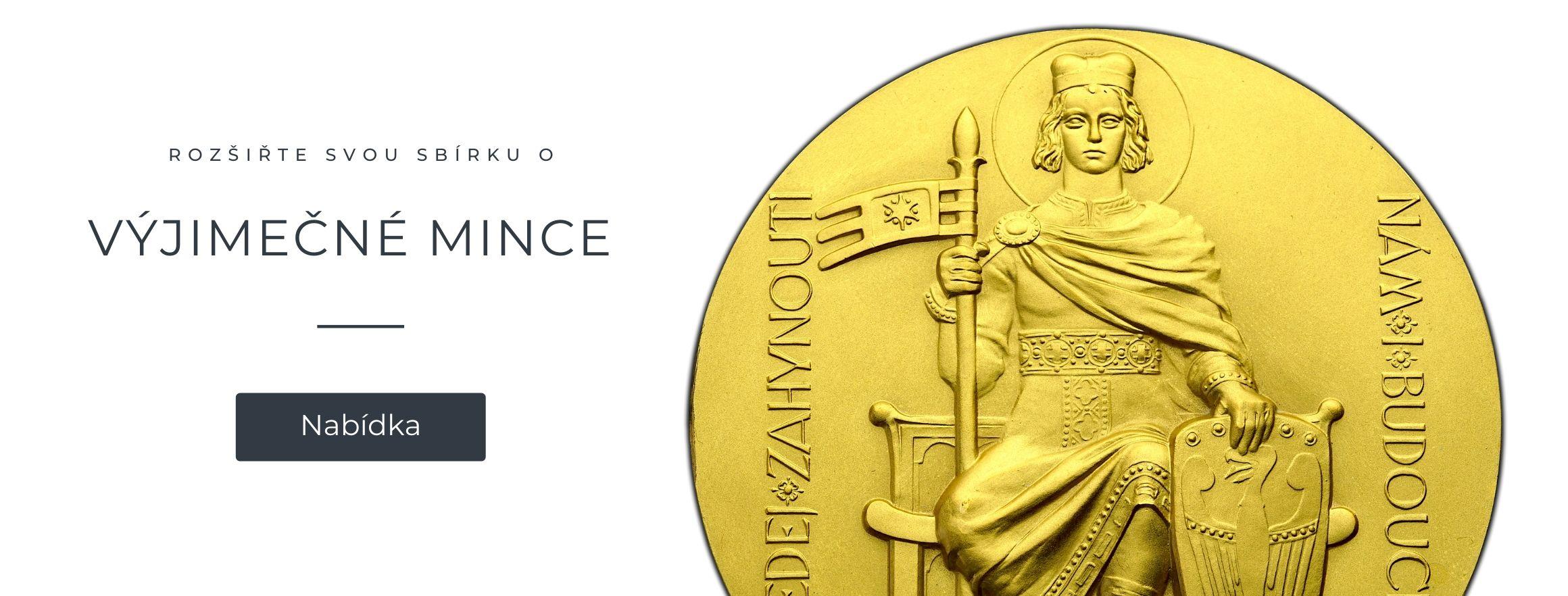 Vzácné mince - Numismatika Pešek