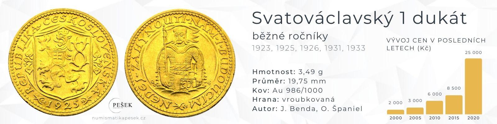 svatovaclavsky-dukat-cena-hodnota