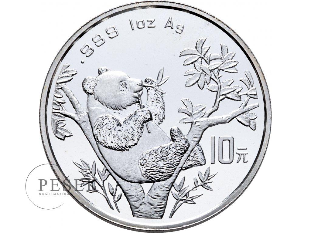 1635 10 yuan cina panda 1oz 1995
