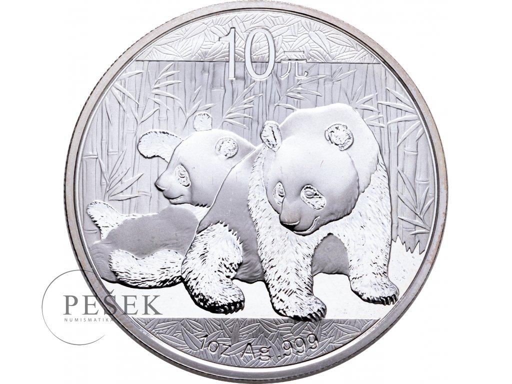 1674 10 yuan cina panda 1oz 2010