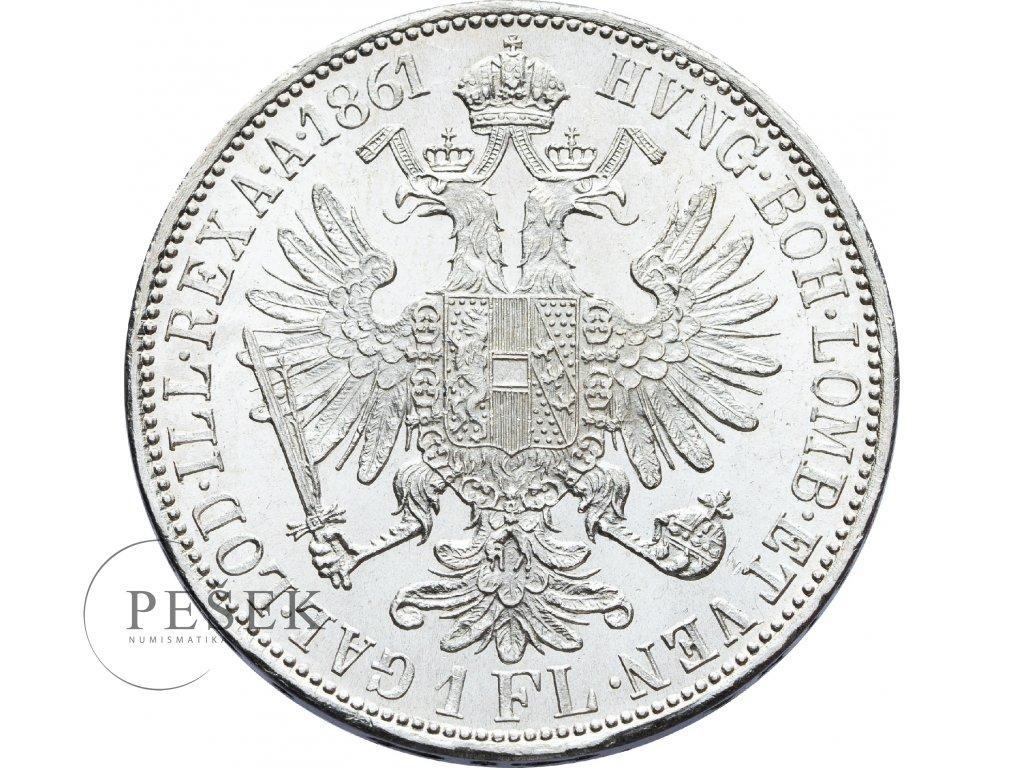 2709 zlatnik 1861 a