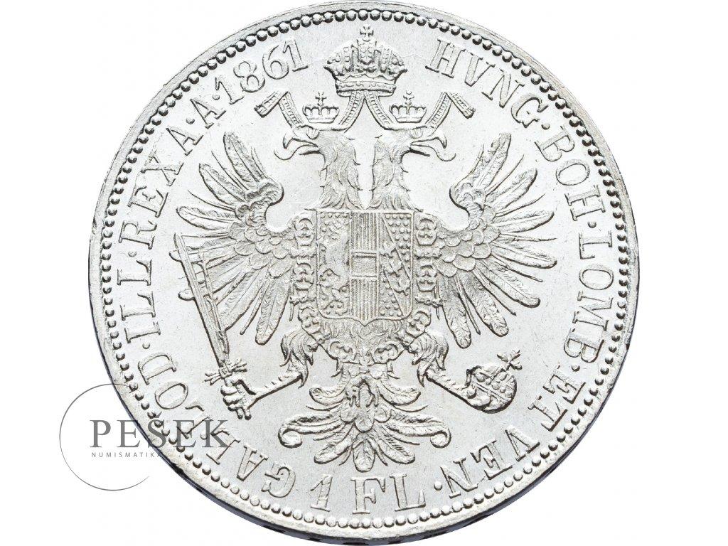 2712 zlatnik 1861 a