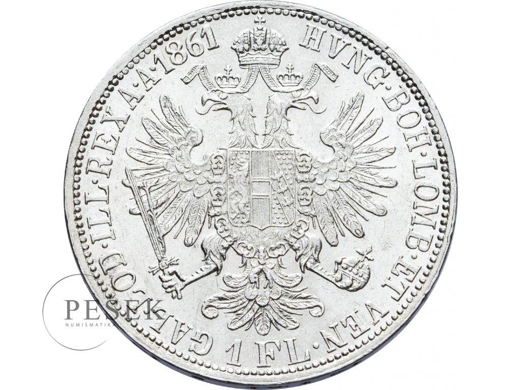 2715 zlatnik 1861 a