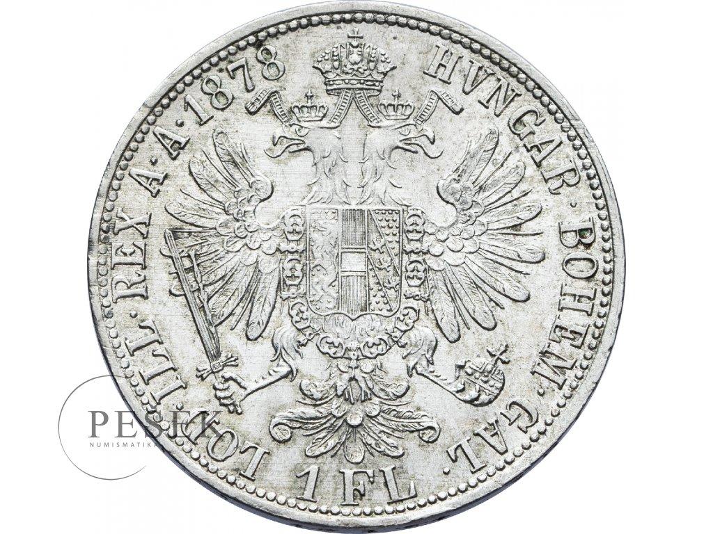 2727 zlatnik 1878 bz