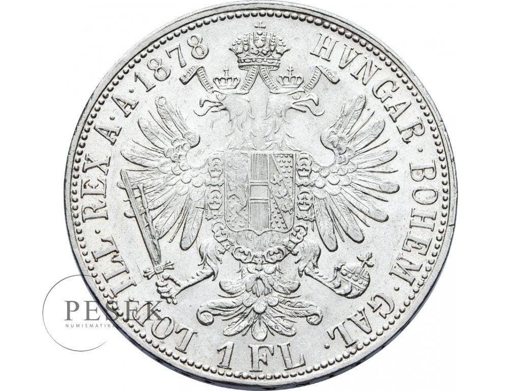 2730 zlatnik 1878 bz