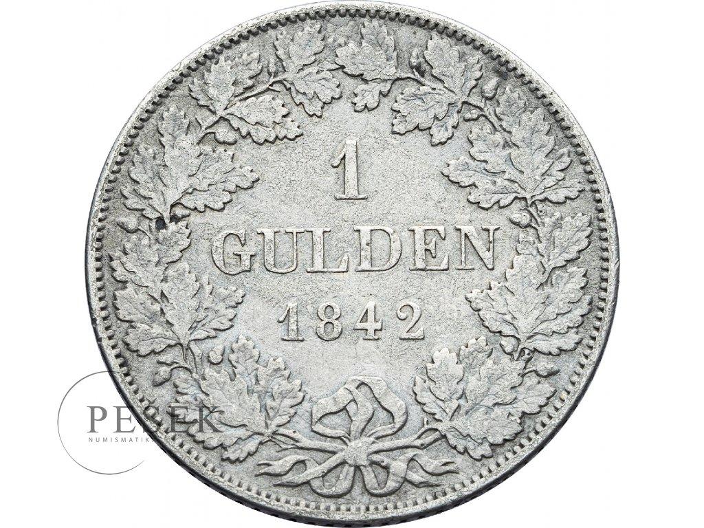 2880 bayern 1 gulden 1842