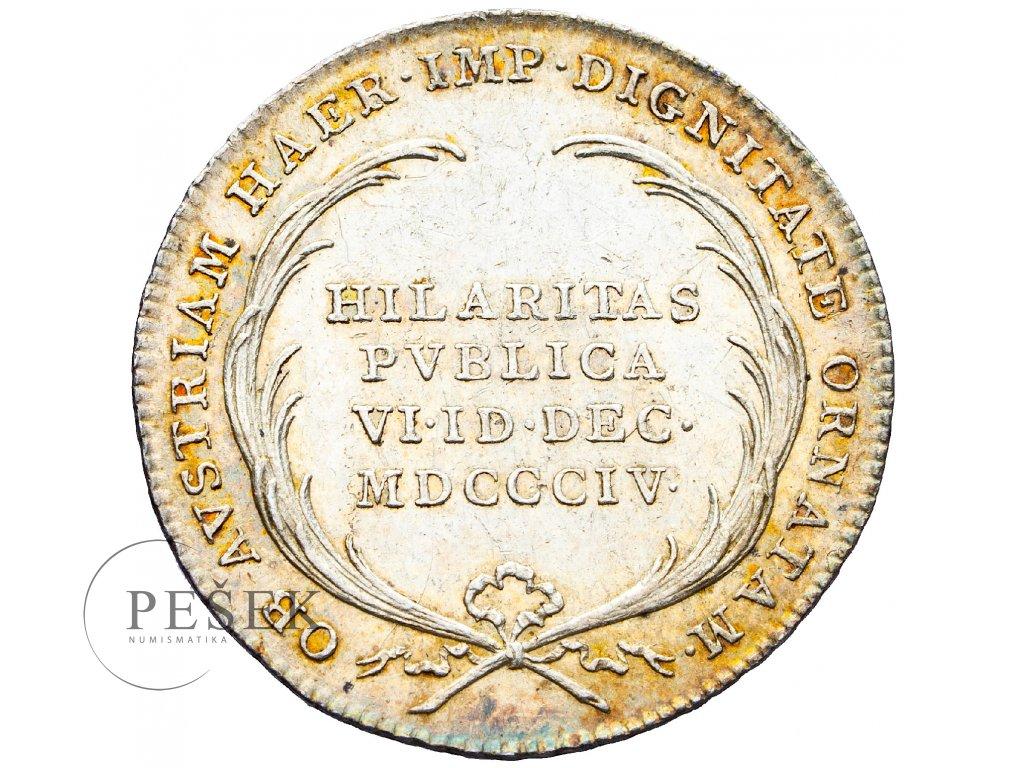 2958 korunovacni zeton 1804