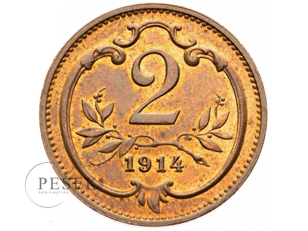 3504 2 haler 1914