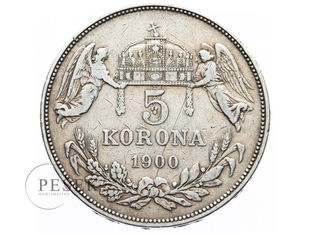 3714 5 koruna 1900 kb