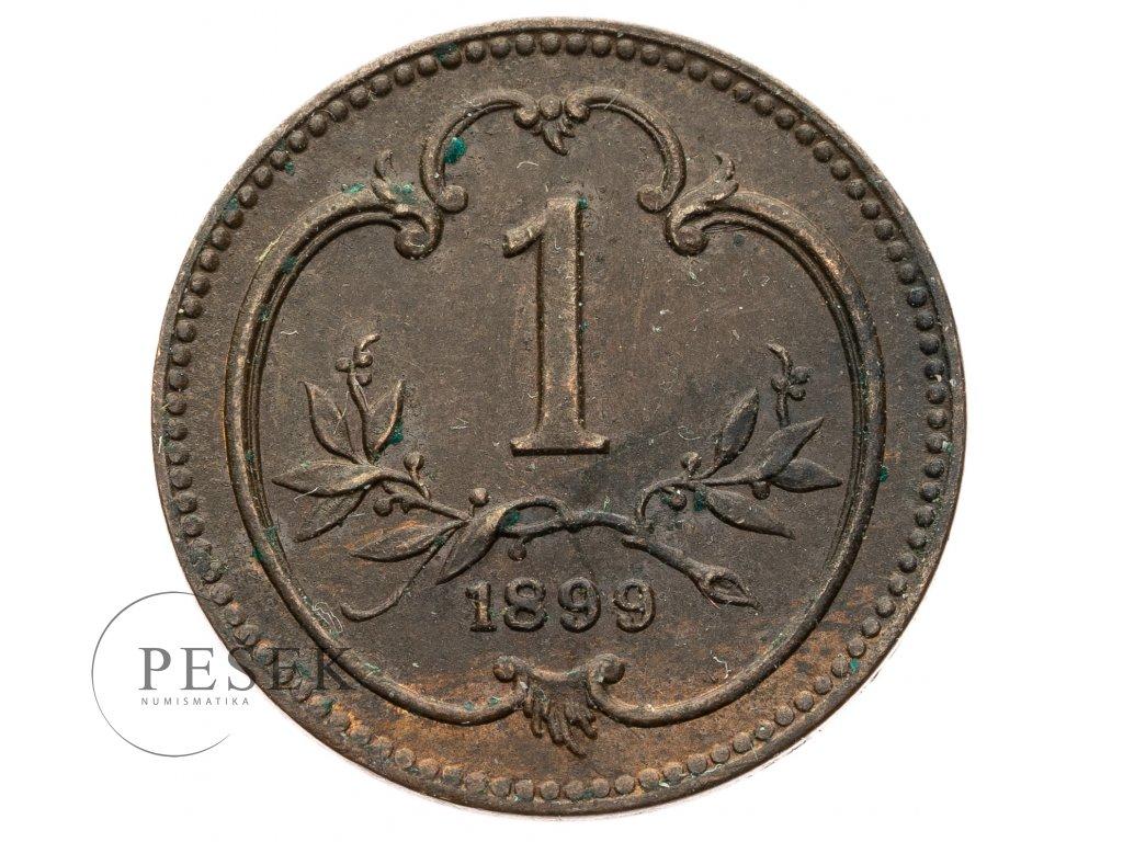 3750 1 haler 1899