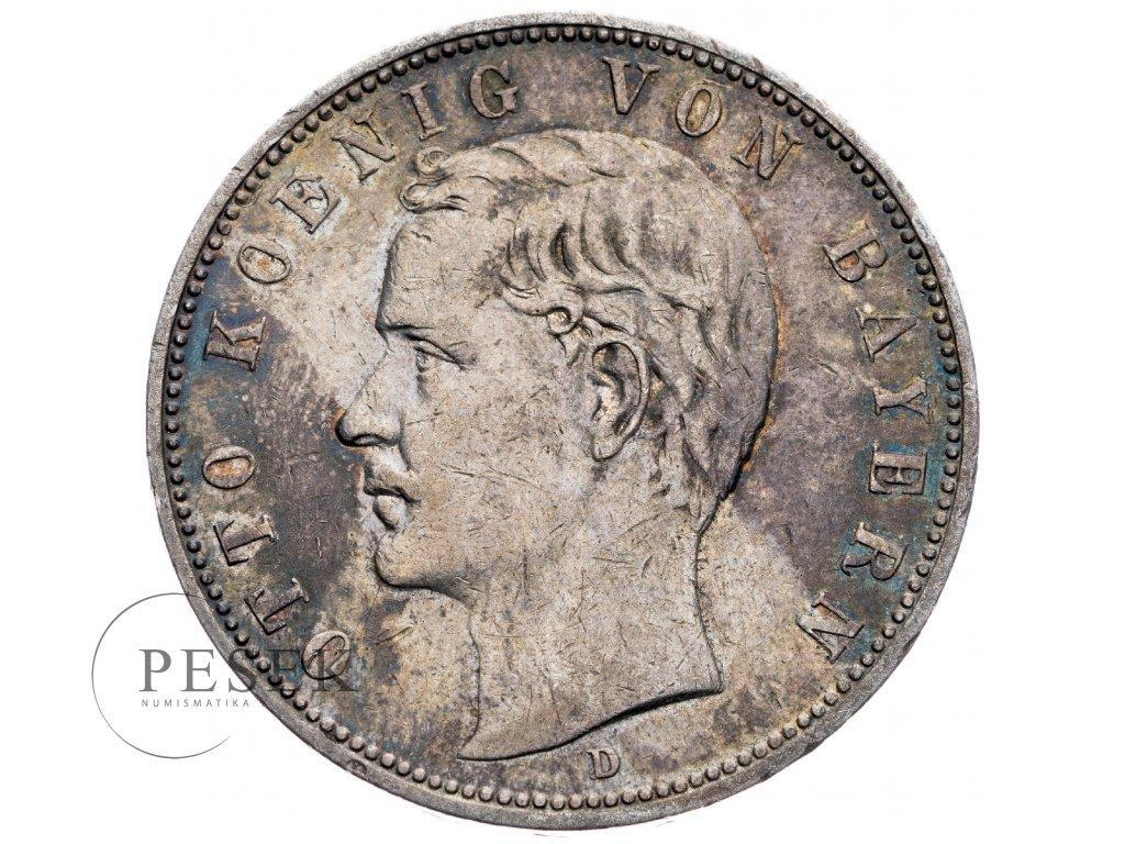 4209 1 bayern 5 marka 1908 d