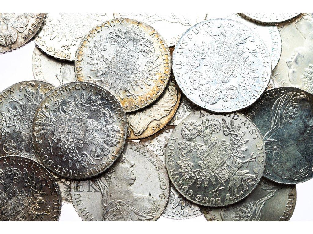 4572 levantsky tolar 1780 sf bankovni jakost nahodny vyber