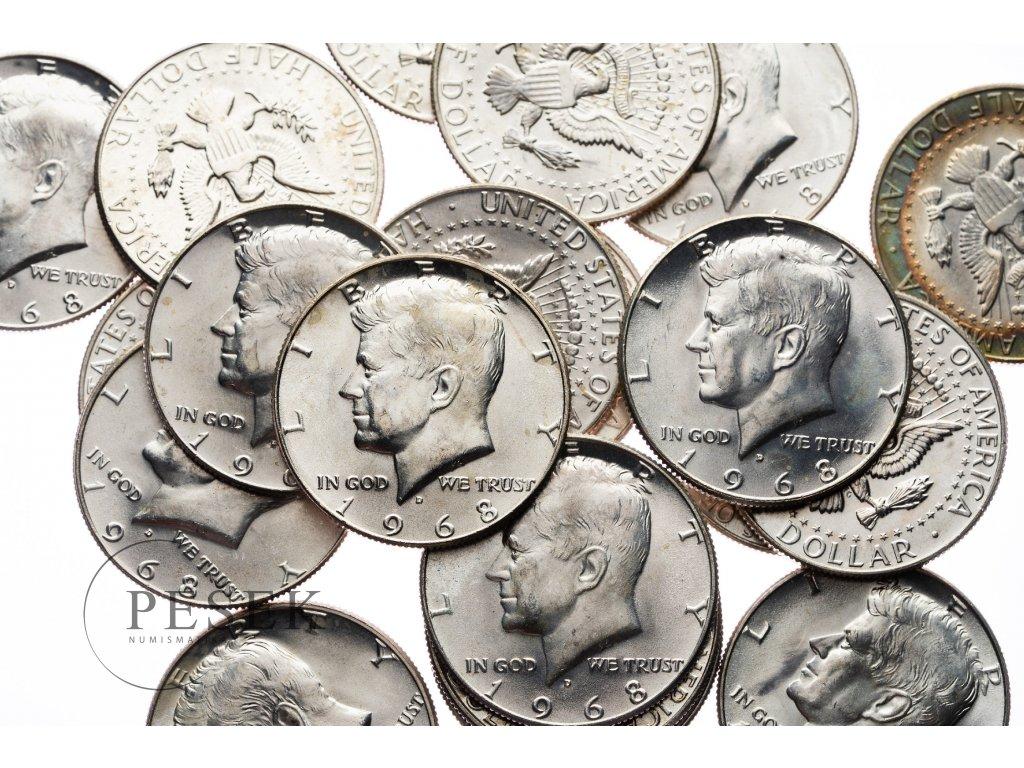 4611 kennedy 1 2 dollar 1968 bu