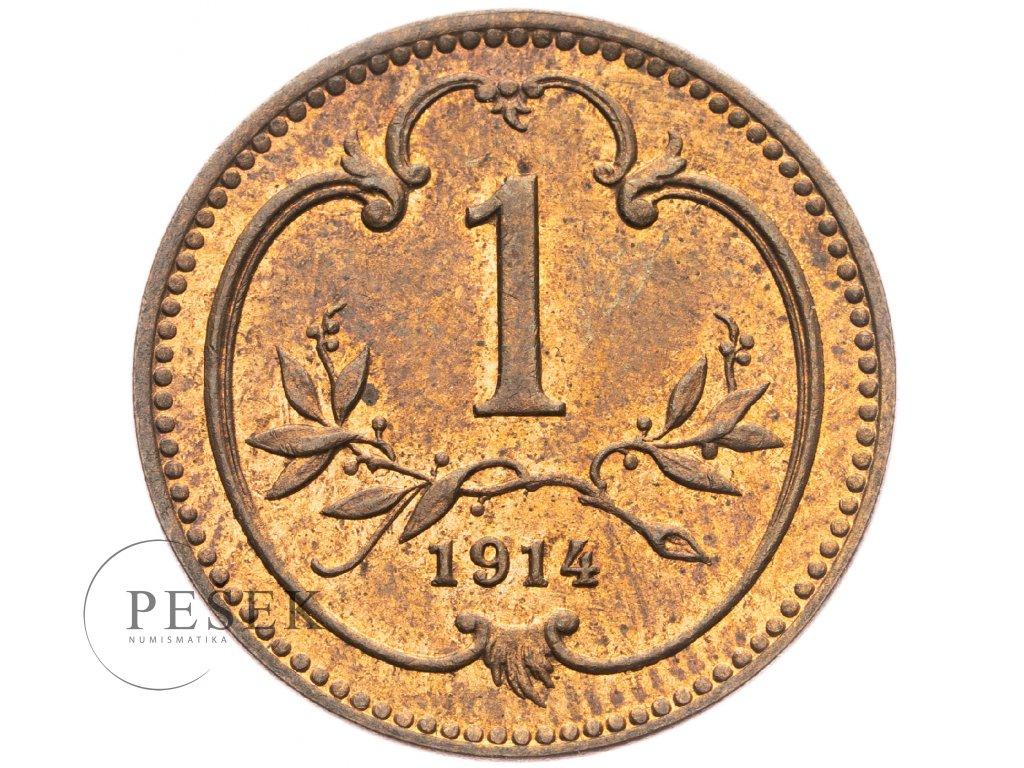 4650 1 haler 1914