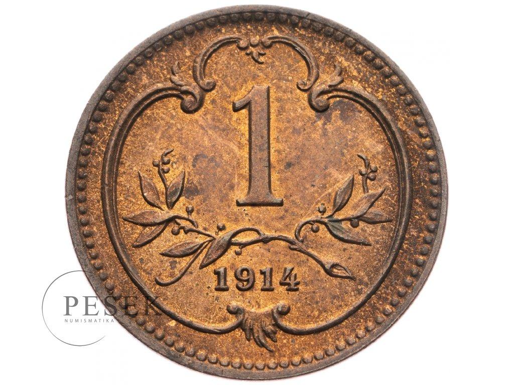 4656 1 haler 1914