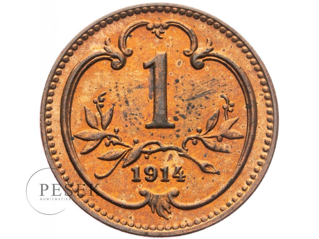 4659 1 haler 1914
