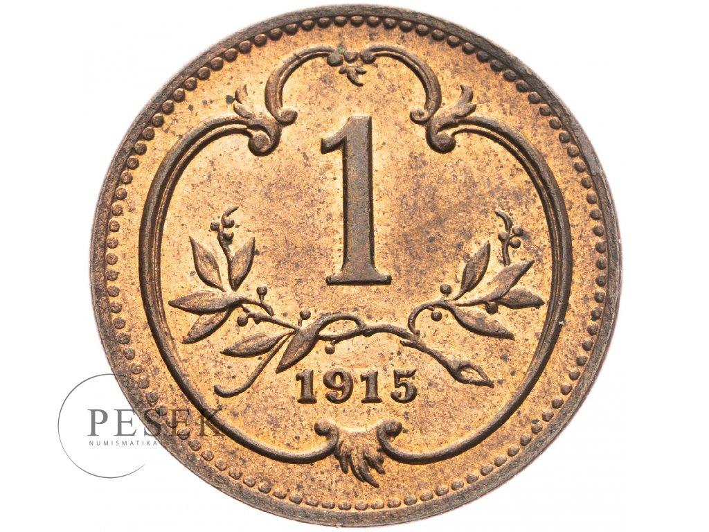 4665 1 haler 1915