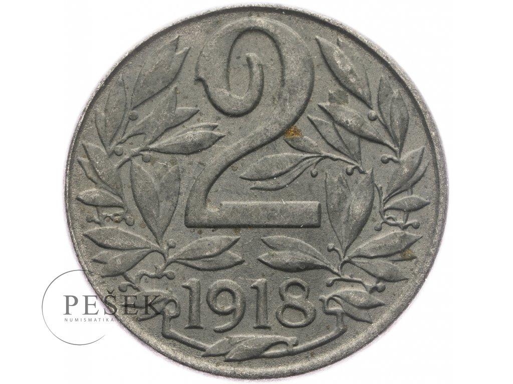 4677 2 haler 1918