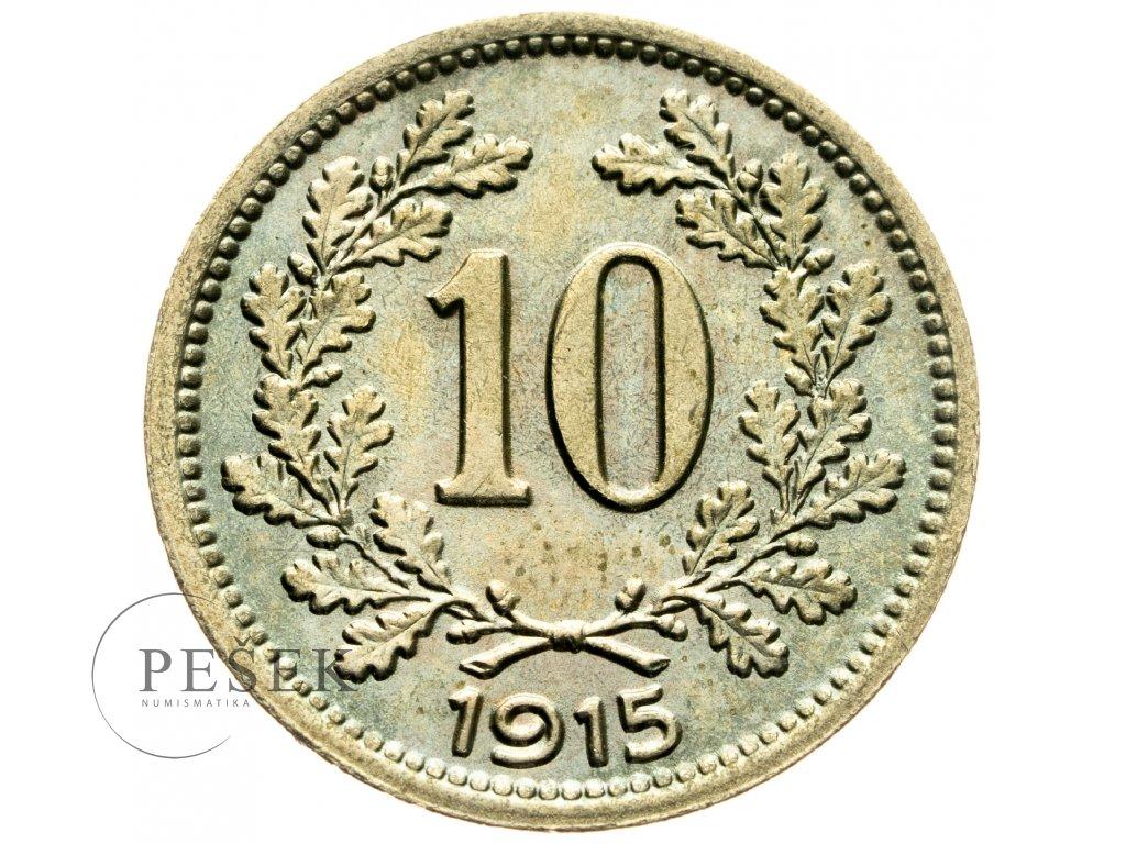 4692 10 haler 1915