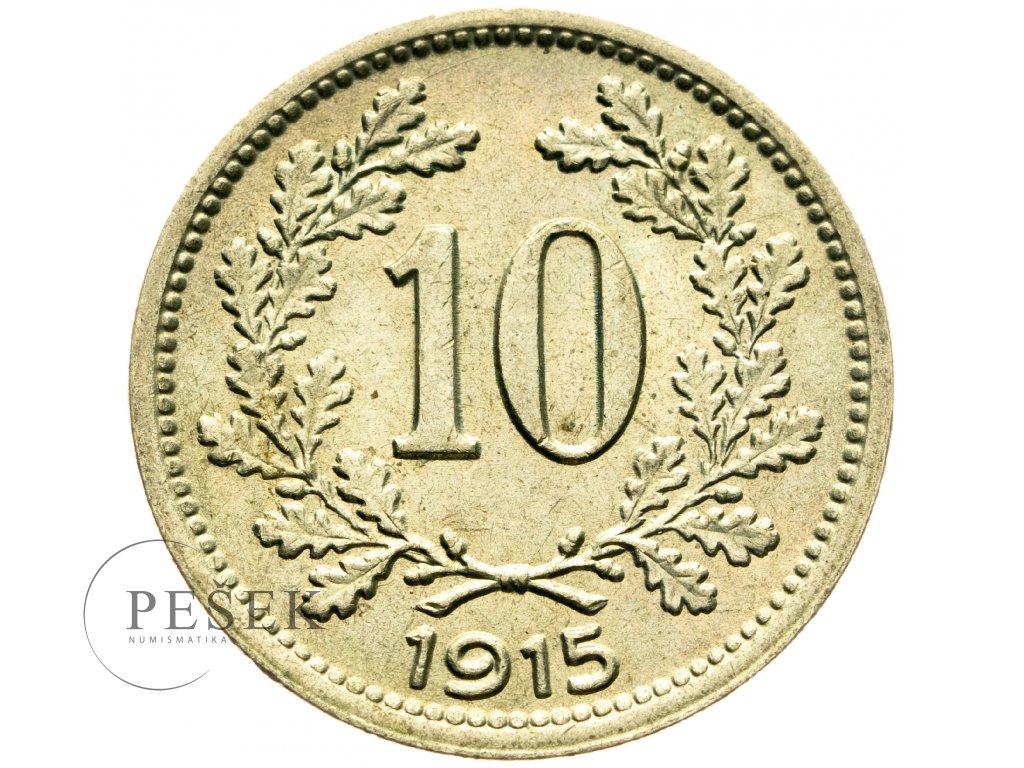 4695 10 haler 1915