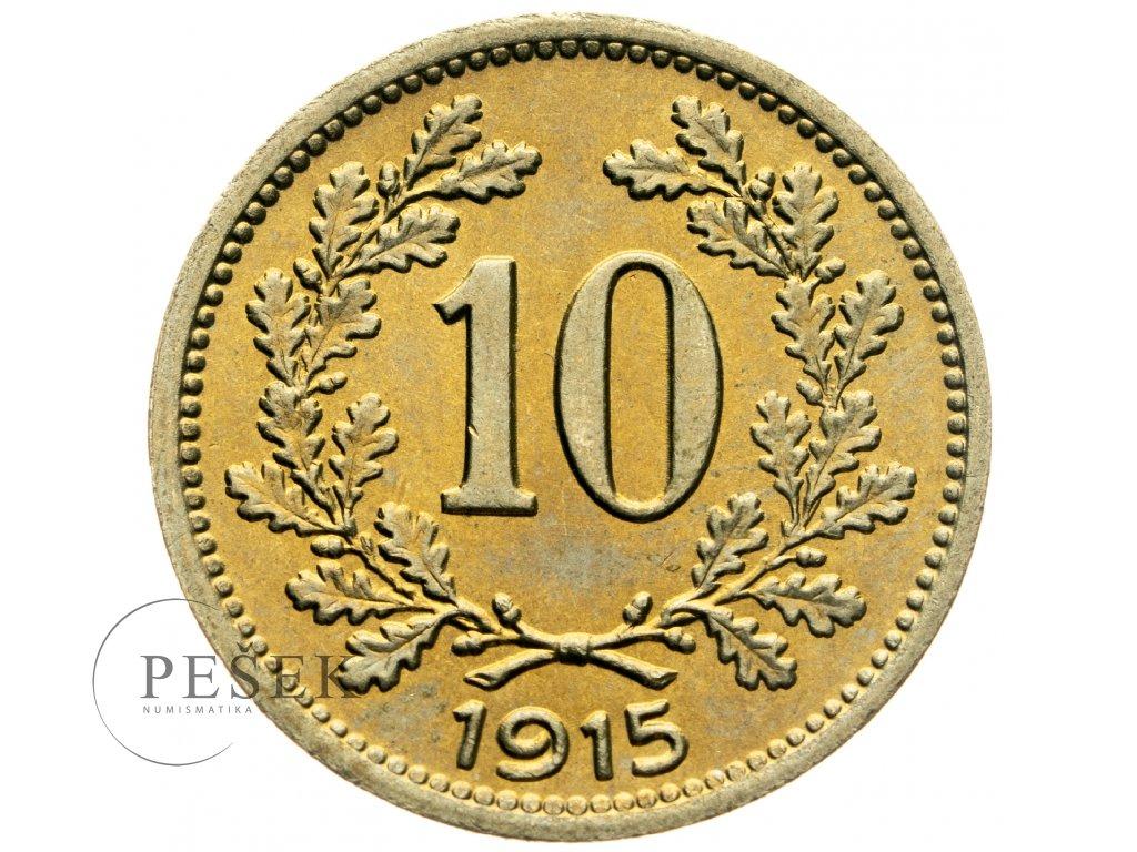 4698 10 haler 1915