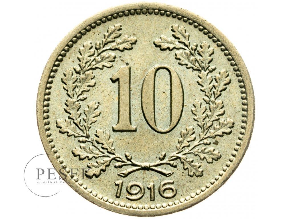 4704 10 haler 1916