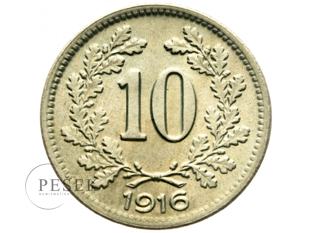 4707 10 haler 1916
