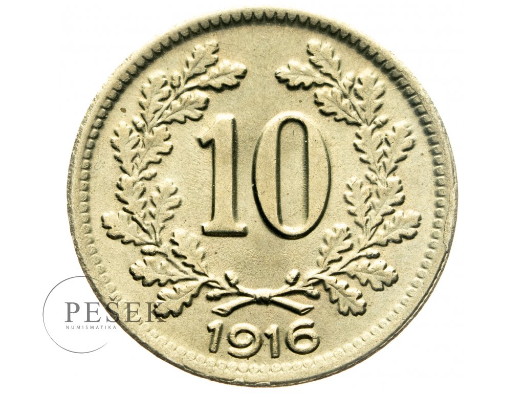 4710 10 haler 1916
