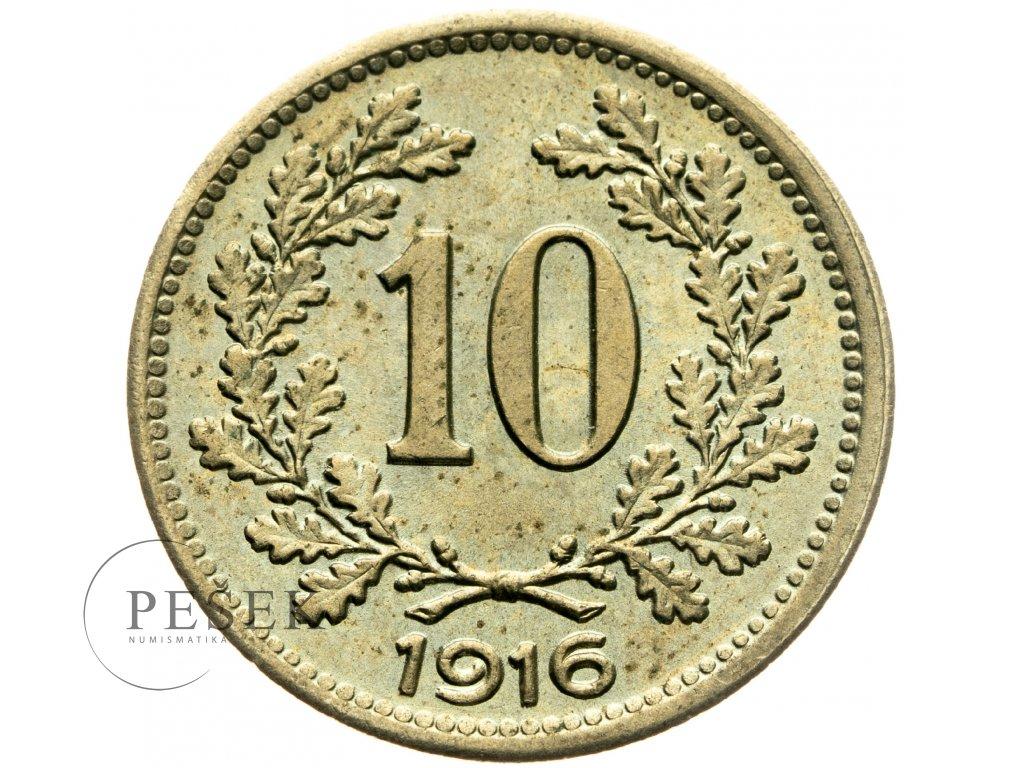 4713 10 haler 1916