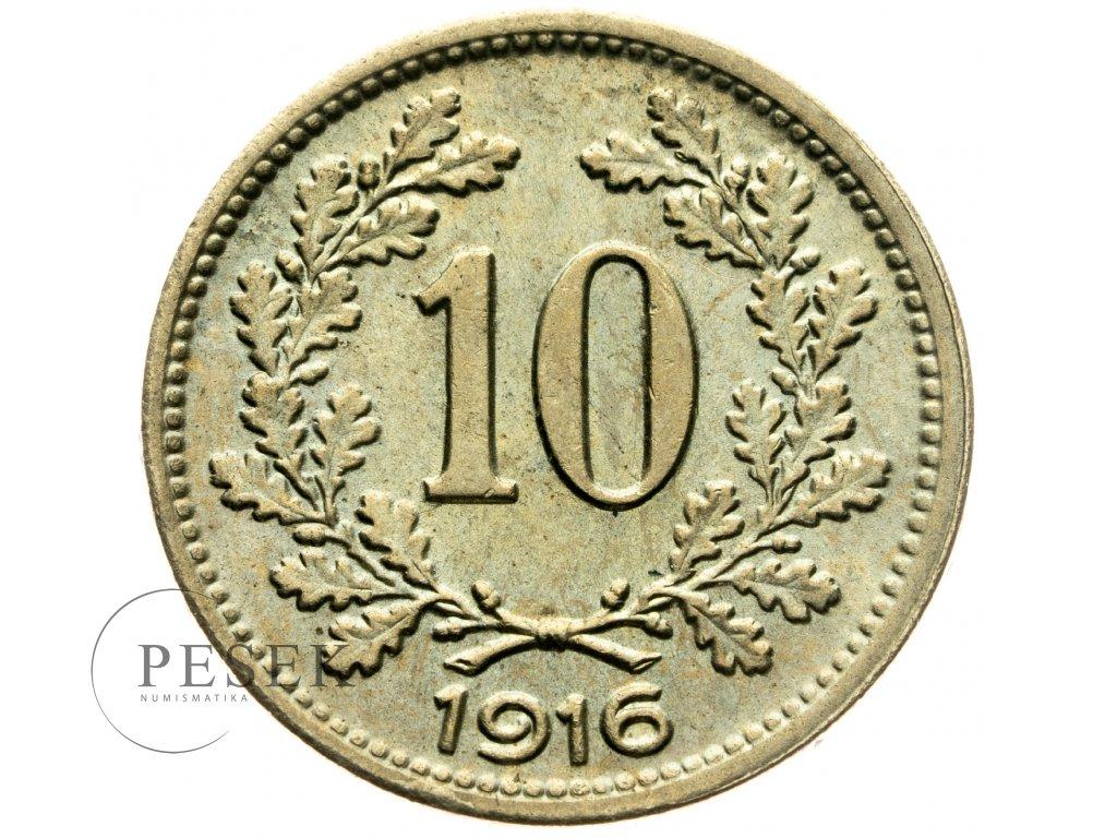 4716 10 haler 1916