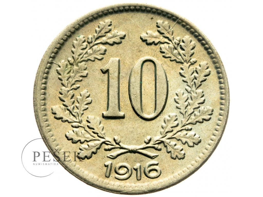 4719 10 haler 1916