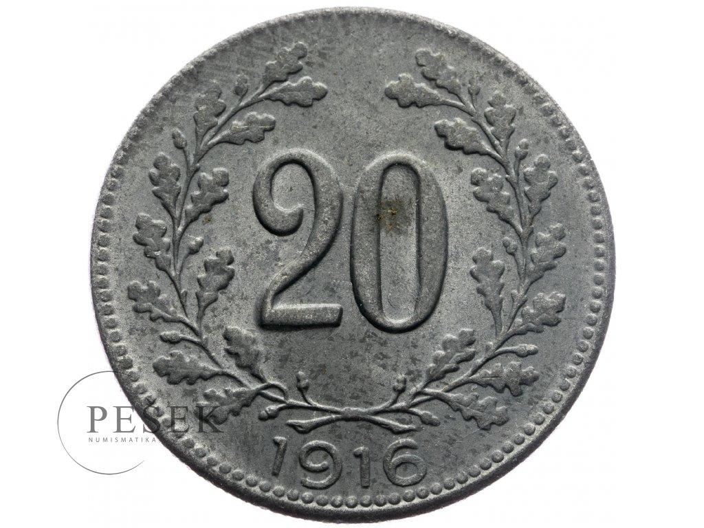 4725 20 haler 1916