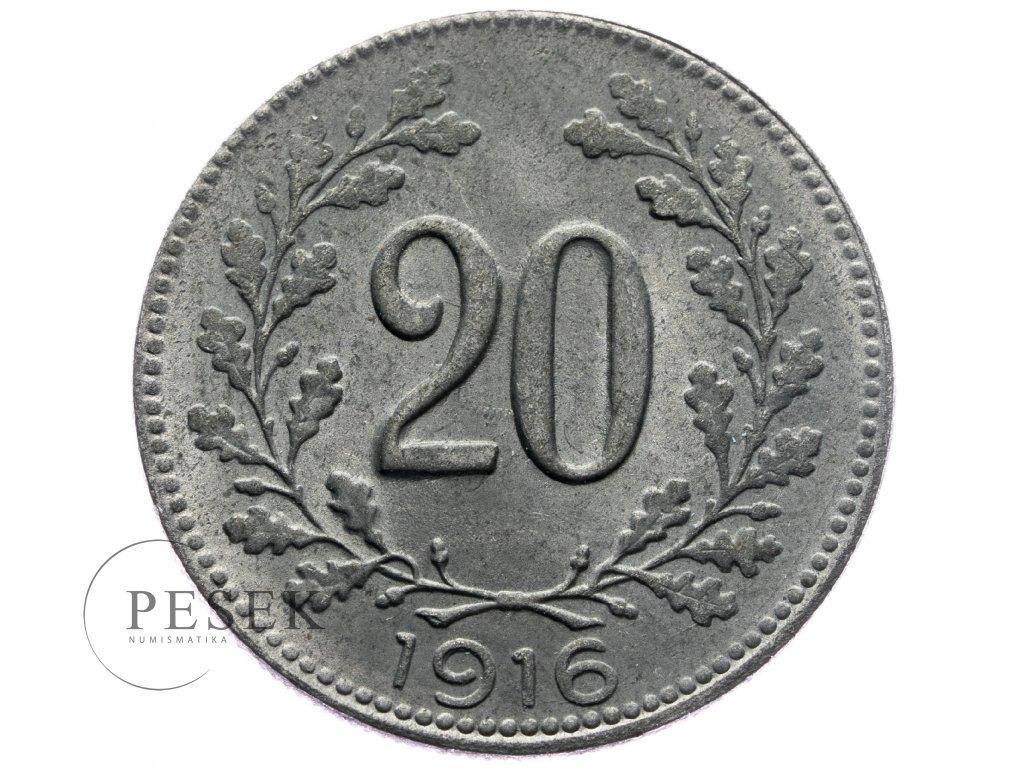 4728 20 haler 1916