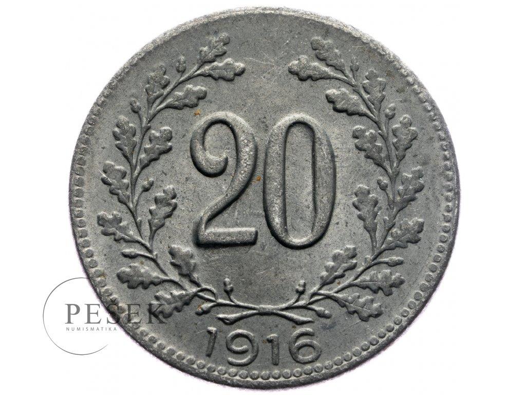 4731 20 haler 1916