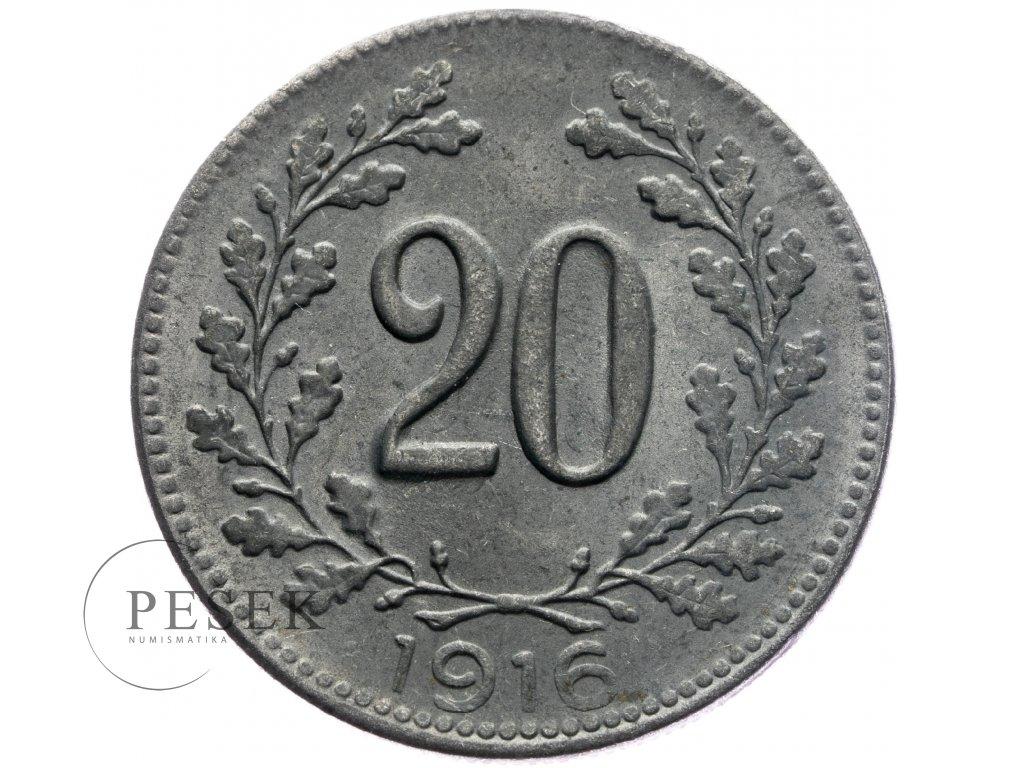 4734 20 haler 1916