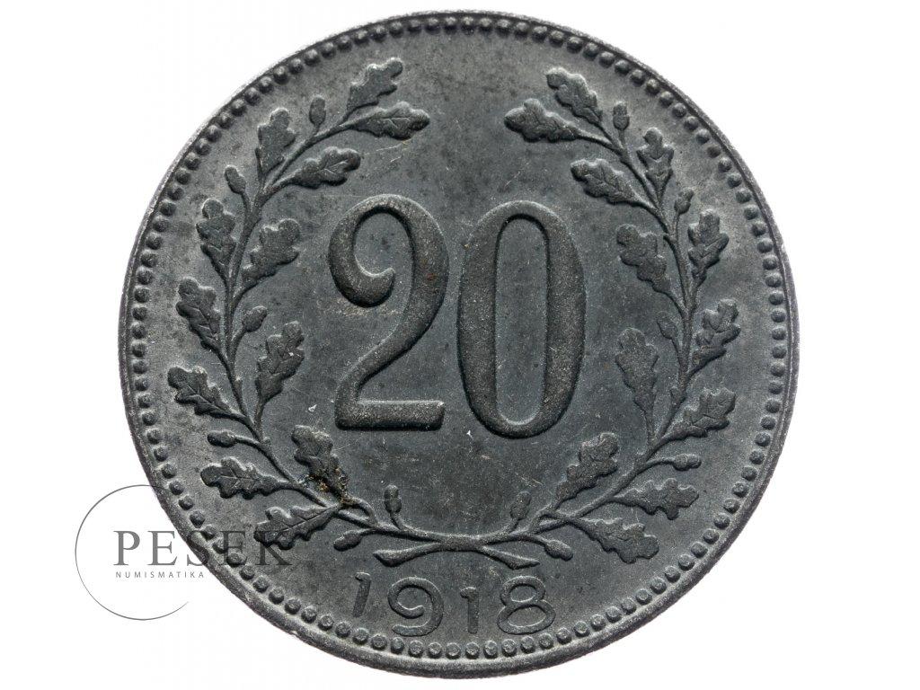 4740 20 haler 1918