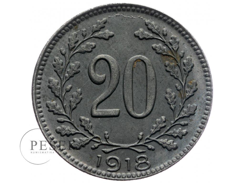 4743 20 haler 1918