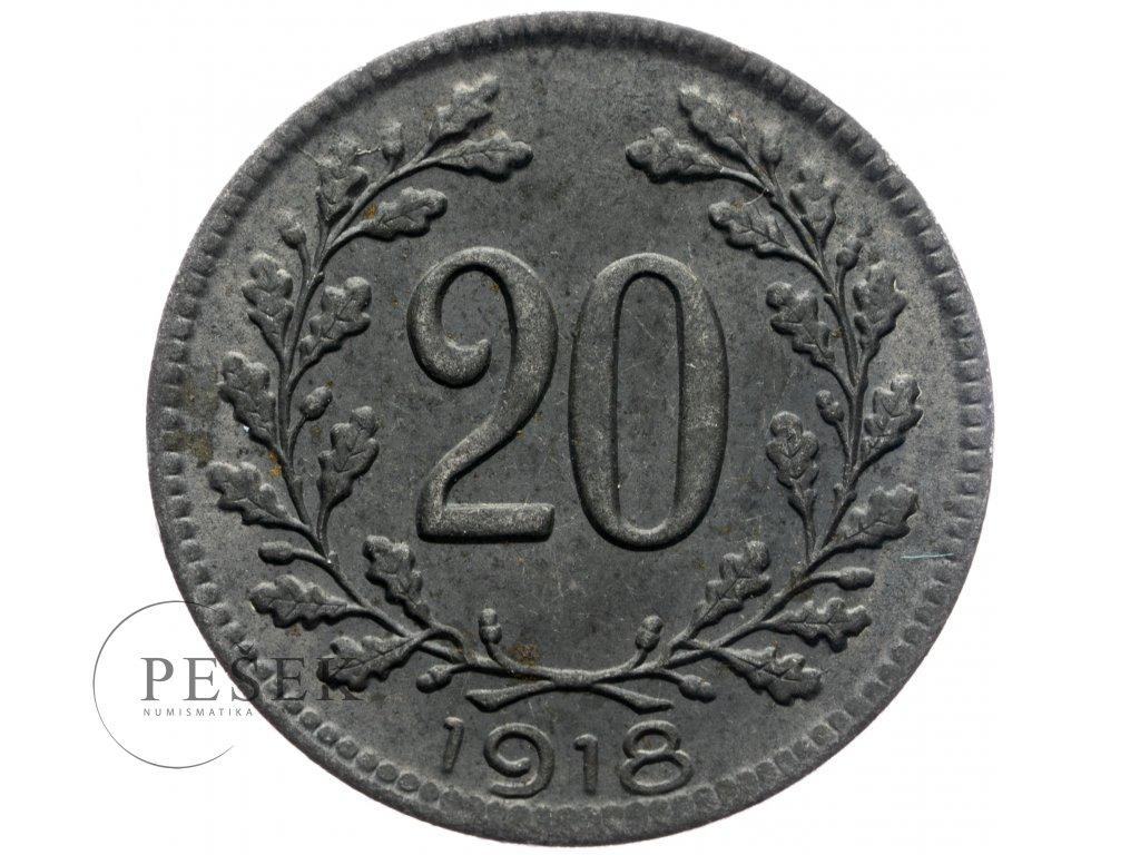 4746 20 haler 1918