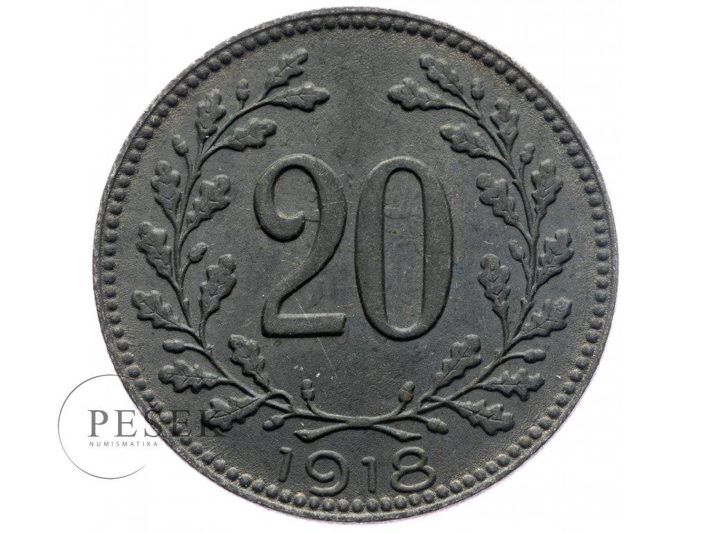 4752 20 haler 1918