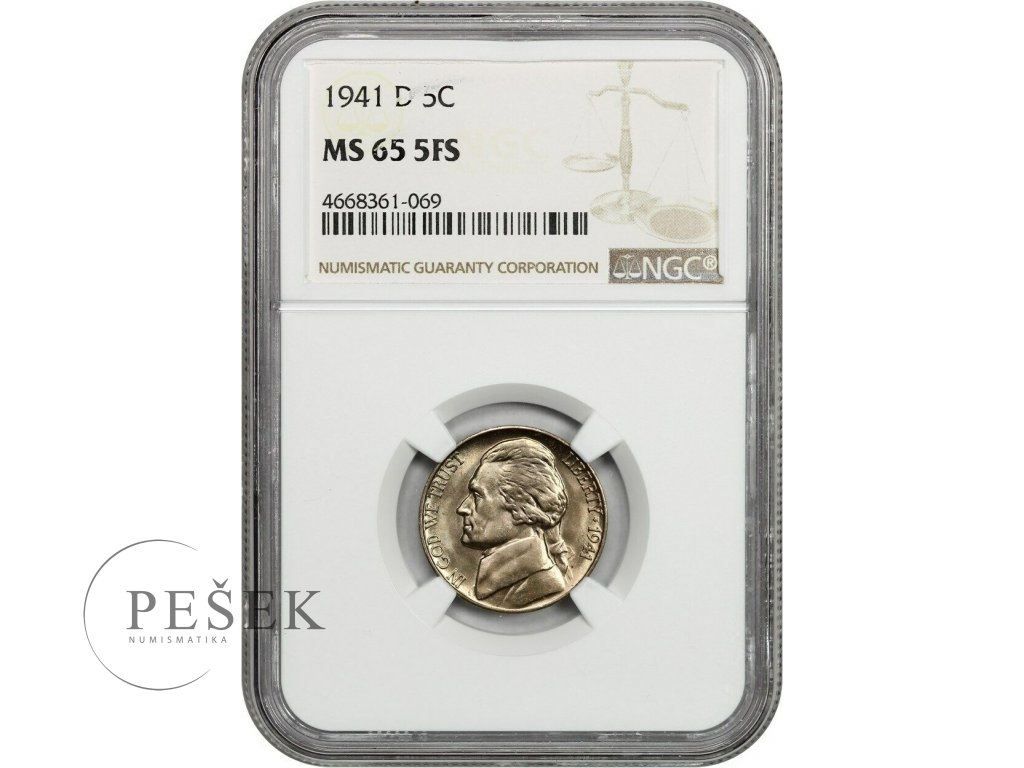 5121 5 cent 1941