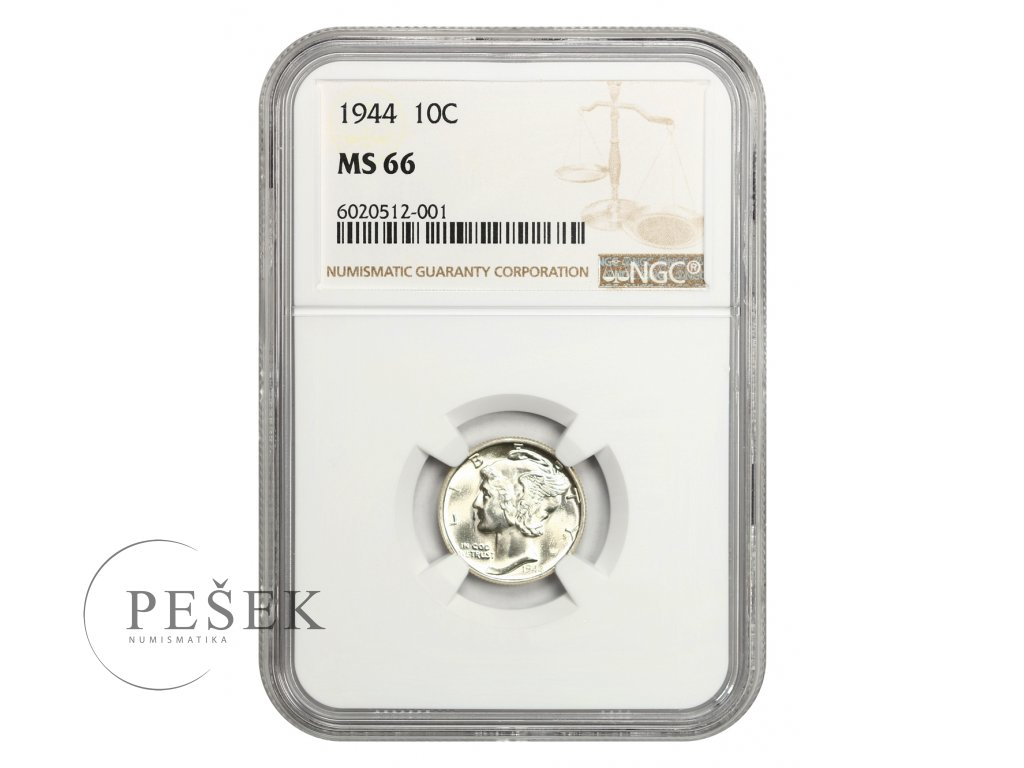 5136 1 10 cent 1944
