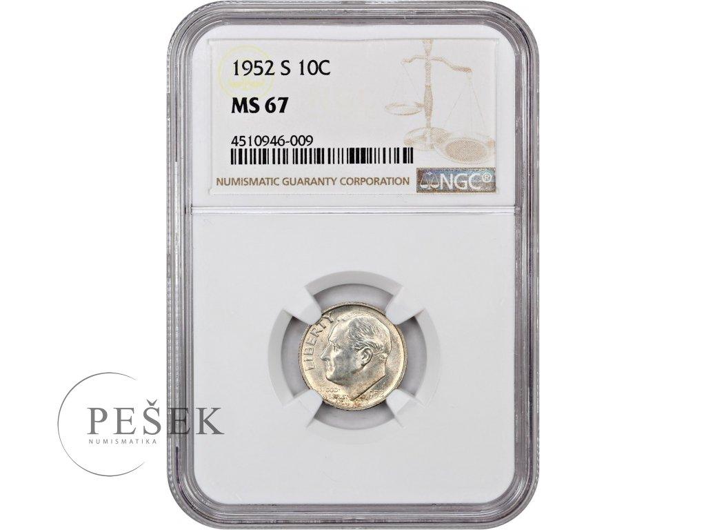 5148 10 cent 1952 s