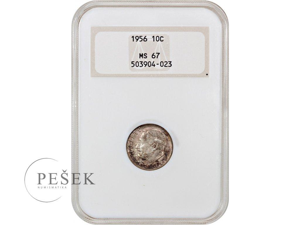 5163 10 cent 1956