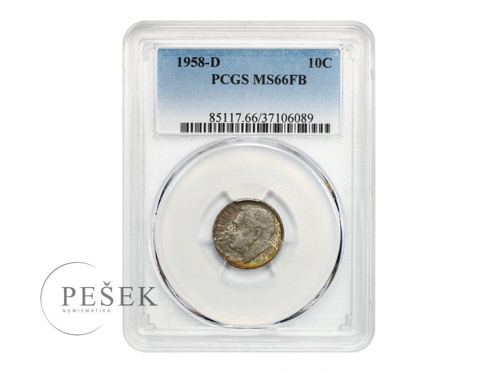 5175 10 cent 1958 d