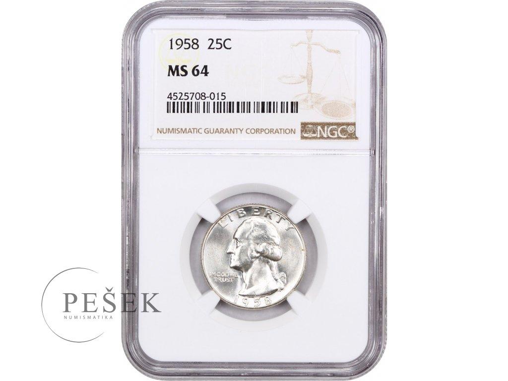 5199 25 cent 1958