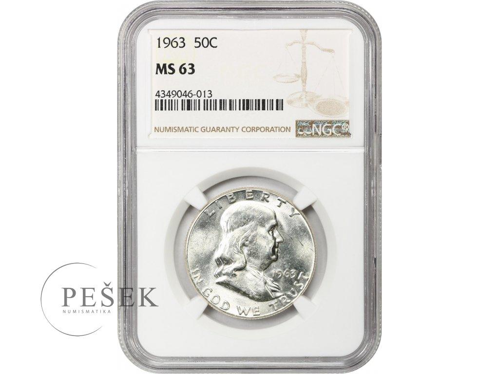 5232 1 2 dollar 1963